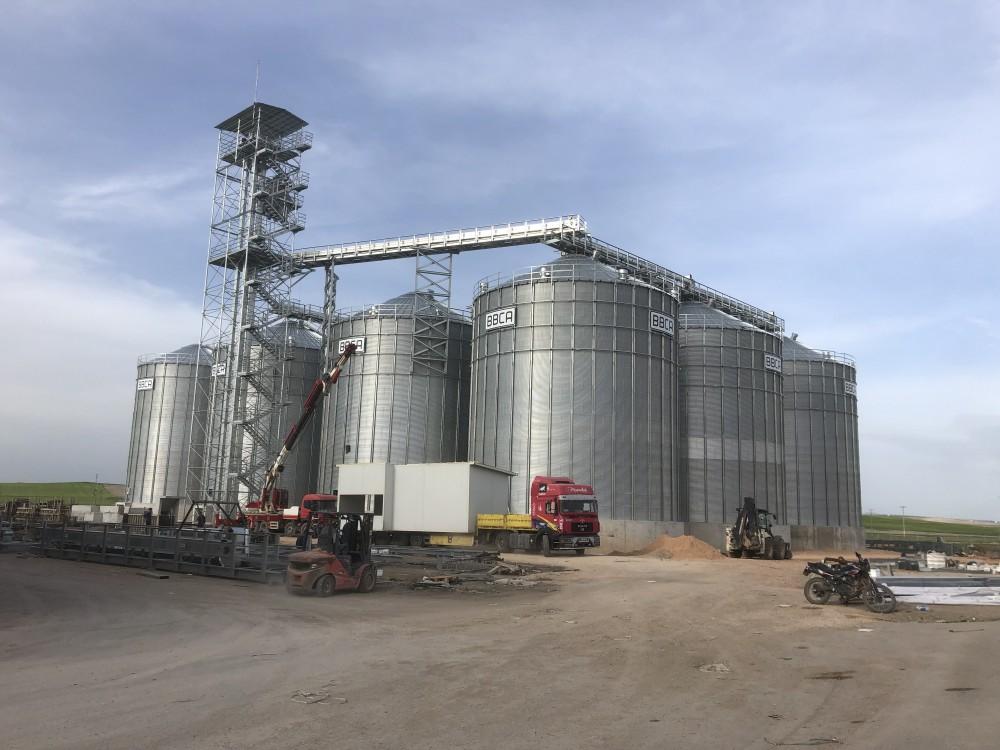 Altınbilek 14 Adet Buğday Silosu Yapımı || 3MC Yapı