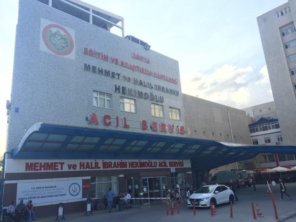 Konya E.A. Hastanesi Acil Servis Bina Önüne Tonoz Yapım İnşaat || 3MC Yapı