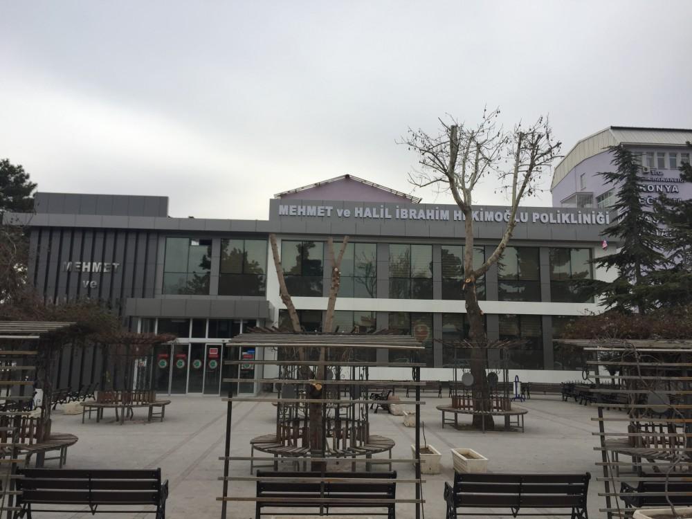 Konya Eğitim ve Araştırma Hastanesi Ek Poliklinik Hizmet Binası İnşaatı || 3MC Yapı
