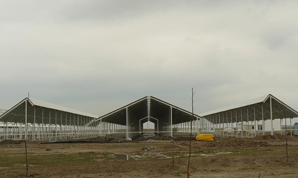 Konya Şeker A.ş. Taşağil Besi Çiftliği Yapımı || 3MC Yapı