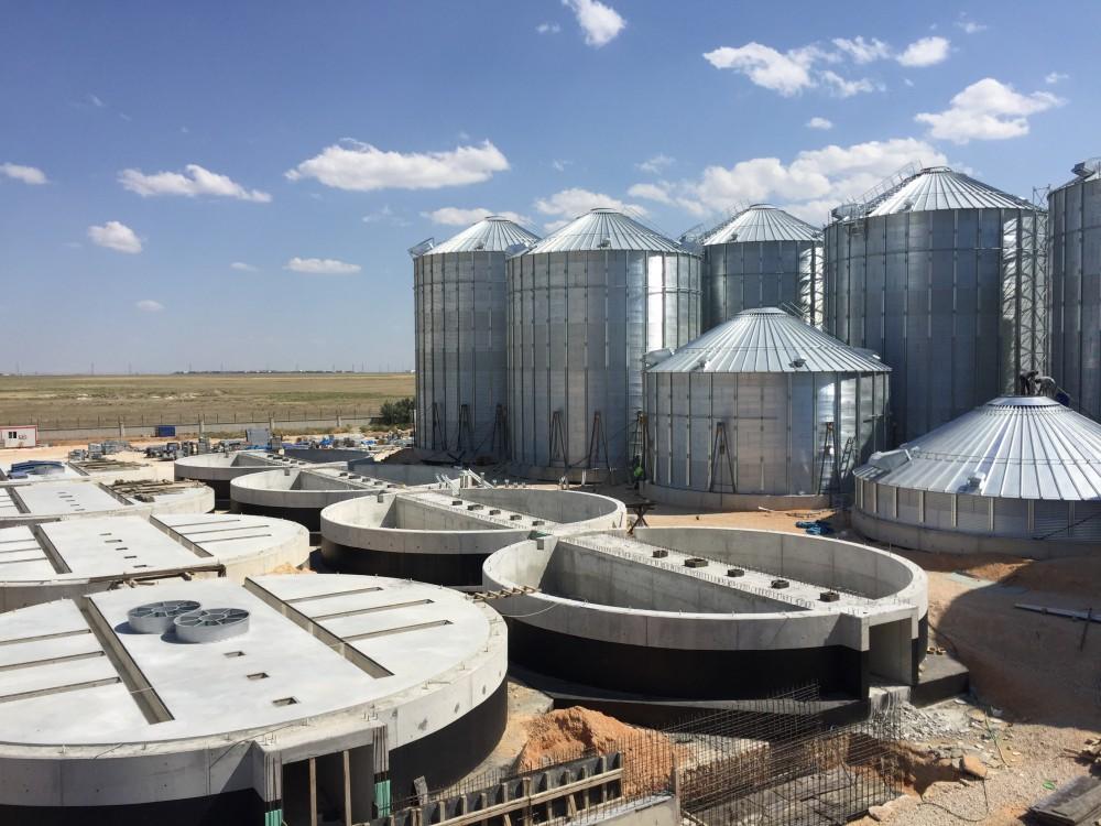 Ova Un 25 Adet Buğday Silosu Yapımı || 3MC Yapı