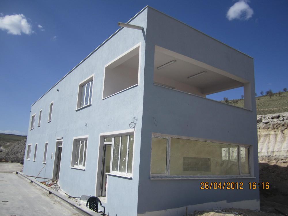 Soğuk Hava Deposu Yardımcı Tesisler İnşaatı Kantar Binası Yapım İşi  || 3MC Yapı