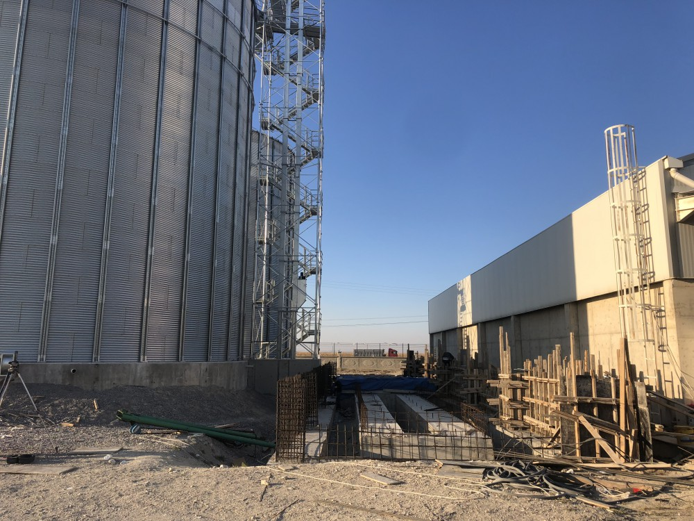 Teknik Tarım Ürün. Ltd. Şti. Silo Yapımı || 3MC Yapı