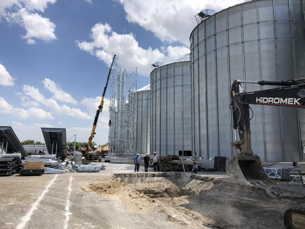 Yalçınoğulları Ltd.Şti. - Alaybeyi Un 18 Adet Buğday Silosu Yapımı || 3MC Yapı