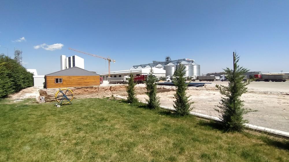 Hektar Hekimoğlu Tarım Ürünleri San. ve Tic. A.Ş. Flake Tesisi ve Sundurması ve Yatay Depoları || 3MC Yapı