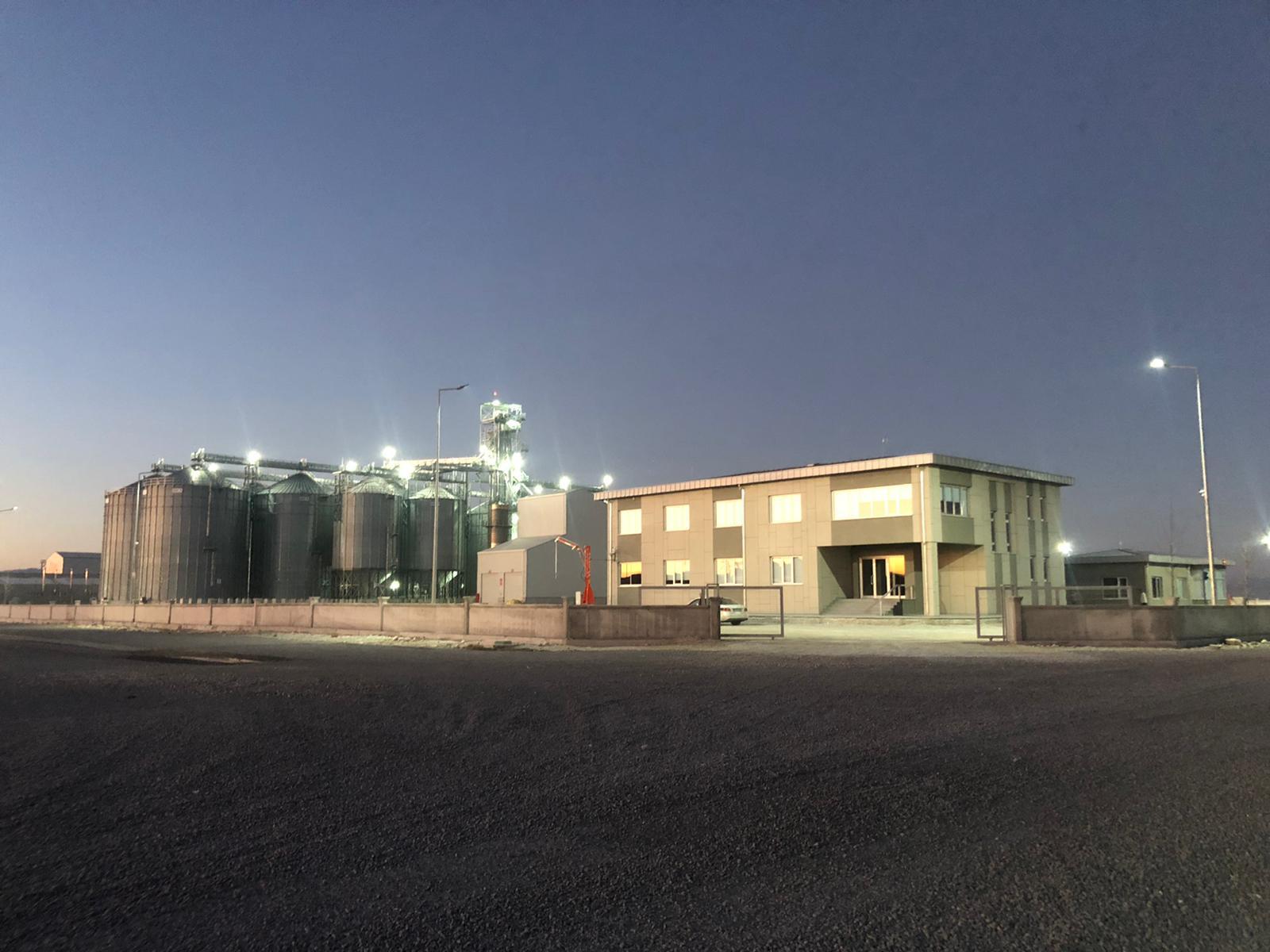 Özkoçlar Tarım - 15 adet Silo Yapım İşi    3MC Yapı